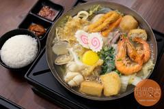 原味海鮮豬肉鍋 set with rice (trendygourmet) Tags: taiwan steamboat hotpot set sauce meat kualalumpur kl taiwanese sripetaling
