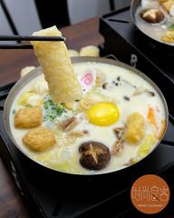 牛奶豬肉鍋 + 響鈴卷 (trendygourmet) Tags: steamboat hotpot taiwan taiwanese meat set sauce sripetaling kl kualalumpur