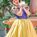 Snow White (EatThisLight) Tags: disney disneyland themepark parade color colorful soundsational girl pretty smile lovely dress princess snowwhite sway