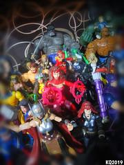 Female Power (THE AMAZING KIKEMAN) Tags: marvel heroes women toy biz characters superheroes action figures comics