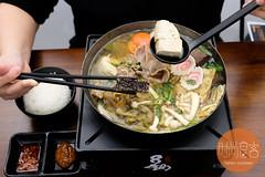 招牌臭臭豬肉鍋 set with rice (trendygourmet) Tags: steamboat hotpot taiwan taiwanese meat set sauce sripetaling kl kualalumpur