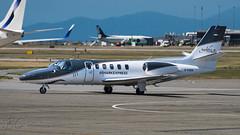 C-FSRX - Icarus Aviation - Cessna S550 (bcavpics) Tags: canada vancouver plane airplane britishcolumbia aviation cessna cfsrx aircraft yvr bizjet s550 cyvr bcpics icarusaviation