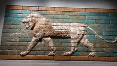 Striding Lion from Babylon 580 BC (sftrajan) Tags: staatlichesmuseumägyptischerkunst egyptianmuseum munich münchen lion wall bricks ancientneareast babylonianempire mesopotamia egyptianmuseummunich staatlichesammlungfürägyptischekunst