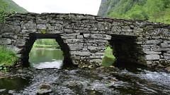 Ei steinbru -|- Stonebridge (erlingsi) Tags: bridge norway bro bru stonebridge vadheim steinbru explored handmade