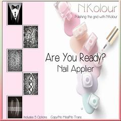 Are You Ready Ad (NKolour) Tags: oxxxcuroevent nailappliers newness slink vista omega maitreya