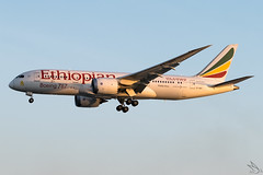 Ethiopian Airlines - Boeing 787-8 Dreamliner / ET-AOT @ Manila (Miguel Cenon) Tags: ethiopian eth787 ethiopian787 et788 et787 rpll airplane airplanespotting apegroup appgroup airport philippines planespotting ppsg manila naia nikon d3300 boeing boeing787 boeing788 b787 b788 genx aircraft lines jet fly flying wings widebody widebodyjet twinengine wing window wheel wide plane aviation 787 etaot