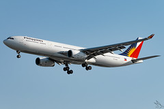 Philippine Airlines - Airbus A330-343 / RP-C8786 @ Manila (Miguel Cenon) Tags: pal pala330 pr pra330 rpll airplane airplanespotting apegroup appgroup airport airbus airbusa330 a330 aircraft a333 airbusa333 ppsg planespotting philippines plane rollsroyce rrtrent trent700 philippineairlines manila nikon naia d3300 fly flying wings widebody widebodyjet wing twinengine grass building sky people road rpc8786