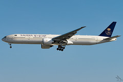 Saudi Arabian Airlines - Boeing 777-3FG(ER) / HZ-AK35 @ Manila (Miguel Cenon) Tags: sv773 sv77w sv777 saudi saudia saudia77w saudiarabian rpll airplanespotting airplane apegroup appgroup airport boeing boeing777 boeing77w b777 b77w manila nikon naia d3300 ppsg planespotting philippines ge90 wings widebody widebodyjet twinengine cockpit aircraft sky window grass wing wheel wide hzak35