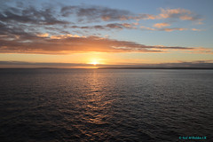 Sunset, Los Lagos, Chile (Neil M Holden) Tags: sunset loslagos chile sea seascape clouds sky canon m50 cruise cruising