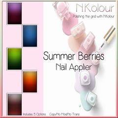 Summer Berries Ad (NKolour) Tags: spotlightevent newness nailapplier nkolour slink maitreya omega vista