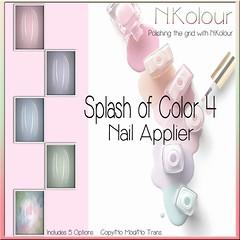 Splash of Color 4 Ad (NKolour) Tags: newness nailappliers slink maitreya mainstore marketplace omega vista