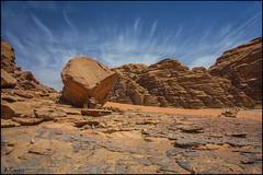 Desierto (antoniocamero21) Tags: paisaje color foto sony atardecer rocas arena cielo nubes desierto rum wadi jordania