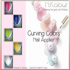 Curving Colors Ad (NKolour) Tags: newness nailappliers nkolour slink vista mainstore maitreya omega