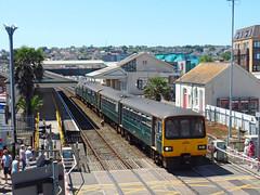 143611 & 150244 Paignton (2) (Marky7890) Tags: gwr 143611 150244 class143 class150 pacer sprinter 2f29 paignton railway devon rivieraline train