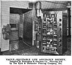 Equitable Life Assurance Society New York NY (Vault Doors) Tags: equitable life assurance society bank vault
