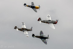 Ultimate Fighters Team (WP_RAW) Tags: retold duxford iwm team fighter ultimate p47d b nellie p51d mary contrary ha1112m1l bochon vc lf spitfire wwii warbird canoneosr