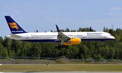 Icelandair TF-FIK, OSL ENGM Gardermoen (Inger Bjørndal Foss) Tags: tffik icelandair boeing 757 osl engm gardermoen