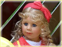Bärbel (ursula.valtiner) Tags: puppe doll bärbel künstlerpuppe masterpiecedoll portrait