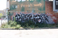 (Laugh now, smile later) Tags: graffiti bayarea eastbay oakland gorge hbs gtoet