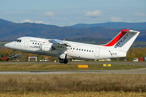 EI-RJS (cn E2365)British Aerospace Avro 146-RJ85 Air France (CityJet)