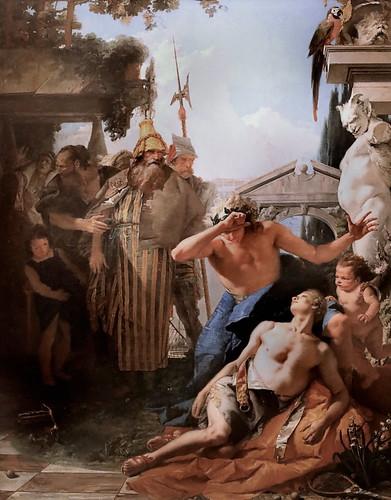 IMG_2101A Giambattista Tiepolo 1696-1770 Venice La mort de Hyacinthe The death of Hyacinthus  ca 1750 Madrid Thyssen-Bornemisza.