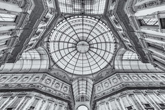 Galleria Vittorio (Andrew G Robertson) Tags: galleria vittorio emanuele ii milan milano fashion italy shopping arcade mall centre architecture canon 1124mm high key detail