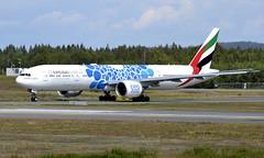 Emirates A6-EPB, OSL ENGM Gardermoen (Inger Bjørndal Foss) Tags: a6epb emirates boeing 777 osl engm gardermoen