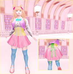 Magical Girl (❀✿ Kate ✿❀ !cream spaghetti hair!) Tags: cod fair kawaii fashion