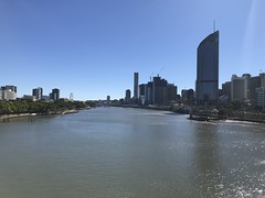 Back on the Brisbane river