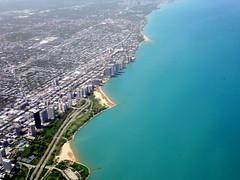 20 minutes later... (oobwoodman) Tags: aerial aerien luftaufnahme luftphoto luftbild zrhord illinois chicago northshore lakeshoredrive sheridanroad apartments skyscrapers lakemichigan