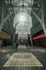(tsuruta.junichi) Tags: architecture bce brookefield chandelier container harvey installation katarine place plastic toronto ontario canada
