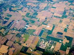 The grid (oobwoodman) Tags: aerial aerien luftaufnahme luftphoto luftbild zrhord michigan farmland acker ferme agriculture i196 countylineroad sectionlineroad