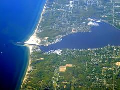 Marina (oobwoodman) Tags: aerial aerien luftaufnahme luftphoto luftbild zrhord michigan lakemichigan holland lakemacatawa