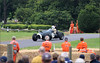Action at Chateau Impney Hill Climb yesterday
