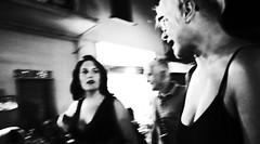 Night moves... (Baz 120) Tags: candid candidstreet candidportrait city contrast street streetphotography streetphoto streetcandid streetportrait strangers rome roma ricohgrii europe women monochrome monotone mono noiretblanc bw blackandwhite urban life portrait people provoke italy italia girl grittystreetphotography faces decisivemoment