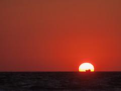 A new day is coming! (bullfinch25) Tags: море рассвет dawn daybreak sea seaside azovsea sunset minimalism sky silhouette nature минимализм силуэт азовськеморе природа східсонця корабль ship