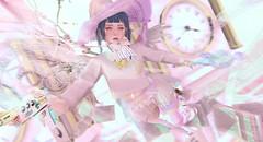 Magical hunter (Yukiterudiary) Tags: qe crystal heart lic magical girl hunter kawaii cute anime mahou chuing academy legal insanity holo skirt insomnia angel witch eyecandy asteroidbox pukki pink fly mor offbeat