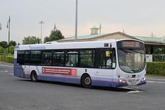 GNW 66836 @ intu Trafford Centre bus station (ianjpoole) Tags: go north west volvo b7rle wright eclipse urban mx05cfp 66836 working route 52 trafford centre bus station failsworth tesco