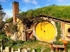 Neither #Samwise Gamgee, perhaps he's away together with #Frodo Baggins in a searching for the #Ring in the deep of #Entwood, together with #Aragorn  #Memory of #LordofTheRings #LOTR  #Hobbitton #TheHobbit #MiddleEarth  #KiwiTrip to #Kiwiland #NZ #KiaOra (yongki_milanda) Tags: instagramapp square squareformat iphoneography uploaded:by=instagram