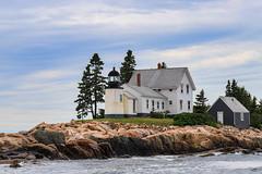 Winter Harbor Lighthouse - Mark Island, Maine (garywebb01) Tags: maine lighthouses winterharbor landscape