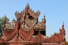Mahar Wai Yan Bon Thar Monastery - Amarapura Mandalay Myanmar (WanderingPJB) Tags: accumulation flickruploaded myanmar burma mandalay buddhism maharwaiyanbontharmonastery amarapura