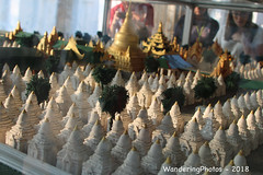 Model of the Kuthodaw Pagoda Complex - Mandalay Myanmar (WanderingPJB) Tags: accumulation flickruploaded myanmar burma mandalay buddhism kuthodawpagodacomplex stupa pagoda model