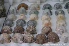 Marble carved tortoises - Mandalay Myanmar (WanderingPJB) Tags: accumulation flickruploaded myanmar burma mandalay marble carved tortoises