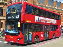 London Central MHV39 (BG66MJF) - 30-06-19 (peter_b2008) Tags: goaheadgroup londoncentral mcv evoseti volvo b5lh hybrid mhv39 bg66mjf buses coaches transport buspictures