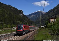 Trenord E190.016 (Marco Stellini) Tags: obb eurocity brenner taurus siemens es64u4 1216 e190 brennero adige alto isarco