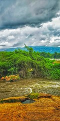 Beauty of Nature (dan-george) Tags: nature river riverside sky moutain hill paniyelipore dangeorge13 greenary green blue hillside forest jungle