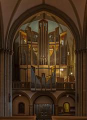 Orgel des Herforder Münsters (ulrichcziollek) Tags: nordrheinwestfalen herford münstrerkirche romanisch gotik orgel