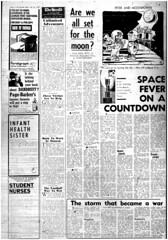 The Melbourne Herald- Wednesday July 16, 1969- Page 4- Apollo 11 Liftoff Preview (Vax80) Tags: apollo 11 moon landing nasa national aeronautics space administration july 1969 melbourne the herald newspaper neil armstrong edwin buzz aldrin michael collins saturn command service lunar module rocket cape canaveral kennedy australia united states america
