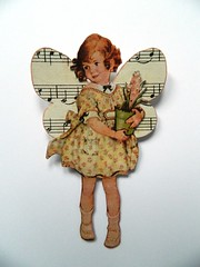 Fairy (JuliaPeculiart) Tags: fairy fairies fae paperdoll paper doll handmade wings butterfly cute whimsical