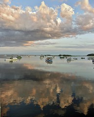 Clouds from both sides now (Robert Dennis Photography) Tags: capeporpoise kennebunkport maine clouds reflections